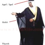 a Arab's traditional clothes