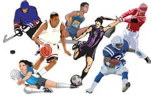 athletes of different sports