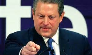 Al Gore, the ex-US vice-president, mocked as alarmist